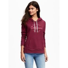 Old Navy Womens Relaxed Fleece Hoodie ($27) ❤ liked on Polyvore featuring tops, hoodies, cranberry cocktail, old navy hoodie, hooded fleece pullover, hooded sweatshirt, fleece hoodies and fleece hooded sweatshirt