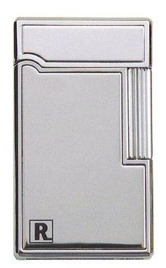 Ronson Aurora polished chrome gas lighter - Ronson - Gift Lighters