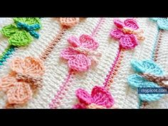 How to crochet Butterfly Stitch Diagram + step by step instructions, My Crafts and DIY Projects