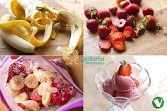 JAHODOVÁ ZMRZLINA z kokosového mléka Vegan Recipes, Vegan Food, Food Inspiration, Vegetables, Sweet, Candy, Veggie Food, Vegane Rezepte, Vegan Meals