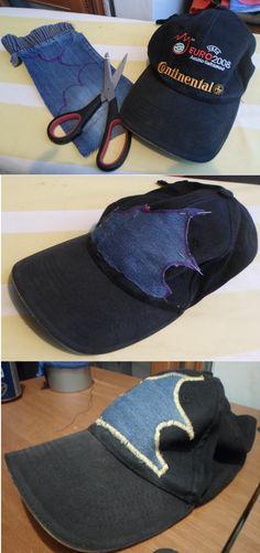 Recupero di un cappello  giusto perchè a me non piace il calcio e loghi e b18496b30c2e