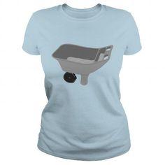 Awesome Tee Garden boots wheelbarrow gardening TShirts  Mens Premium TShirt Shirts & Tees