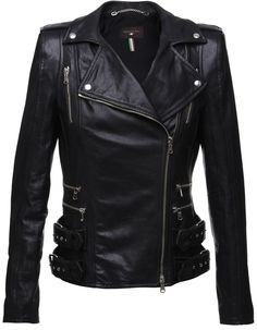 Leather: mine will have to be faux but I love how leather... Or faux leather jackets hug curves!