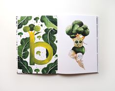 Aitch's VeggieFruit Alphabet - The Book on Behance