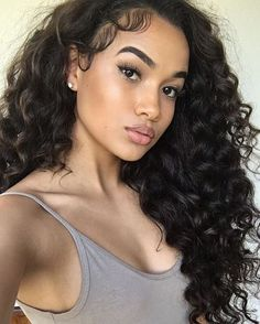 "24"" Curly Wigs African American Wigs The Same As The Hairstyle In The Picture - Human Hair Wigs For Black Women"