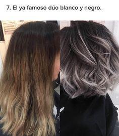 Gray Wigs Lace Frontal Wigs toner to get grey hair – loverlywigs Short Curly Haircuts, Curly Hair Cuts, Curly Hair Styles, Bob Haircuts, Ombre Hair, Blonde Hair, Balayage Hair Grey, Gray Hair Highlights, Hair Styles 2016