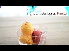 Inghetata De Iaurt si Fructe #IceCream - YouTube Cooking Ice Cream, Facebook, Desserts, Youtube, Instagram, Food, Diy, Tailgate Desserts, Deserts