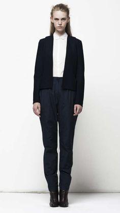 The Tim Labenda Spring Summer 2014 Collection is Gender-Bending #minimalist trendhunter.com