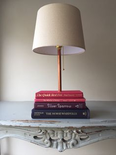 Book Lamp Made From Books Fox Sparrow Woodland Wonder Theme Book Lamp Upcycled From Vintage Books