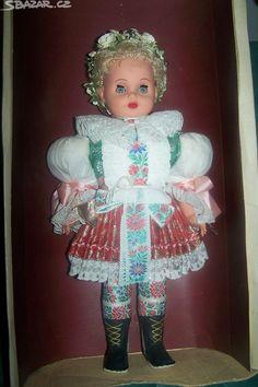 Ceny v popisku: Staré nádherné krojované panenky - obrázek číslo 4 Vintage Dolls, Harajuku, Folk, Costumes, Dresses, Fashion, World, Vestidos, Moda