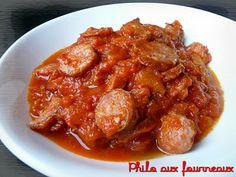 Philo aux fourneaux: Rougail saucisses