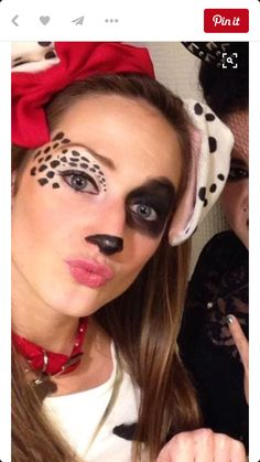 25 halloween makeup ideas inspired by movie characters halloween diy dalmation costumemakeup more maquillaje halloween venado solutioingenieria Images