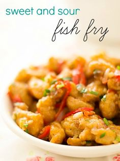 Chinese style Sweet and Sour Fish