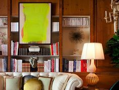 All Hung Up: Hanging art is one of those little things that makes a house feel like a home