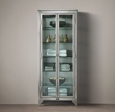 1930s Laboratory Stainless Steel Storage Cabinet Medium - Restoration Hardware $2075 as of 02/24/15