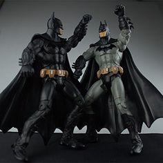 "PJ's Toybox 7"" 18cm Super Hero The Dark Knight Rises Batman PVC Action…"