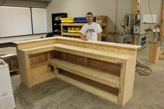 Our interns built a DIY bar. Learn how you can build our own DIY bar for your ho… Our interns built a DIY bar. Learn how you can build our own DIY bar for your ho…
