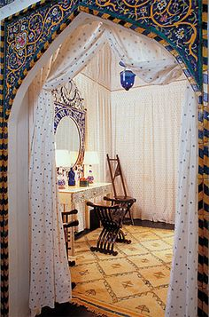 This week, the traveling exhibition Doris Duke's Shangri La Decor, Interior Design, Luxury Homes, House, Moroccan Design, Interior Architecture, Home, Living Spaces, Home Decor