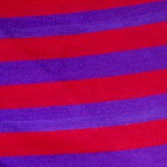 red & purple knit
