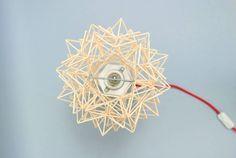 Beautiful Geometric Wooden Lamps – Fubiz Media