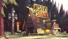 Idea Grizzly Peak Mystery Shack. A new take on Mystic Manor - Page 2