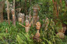 קיבוץ אילון בצפון - גן הפסלים של מאיר דודזון