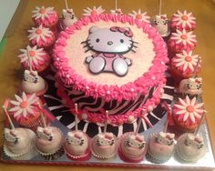 Hello Kitty Cake Pops Hello Kitty Pinterest Hello kitty cake