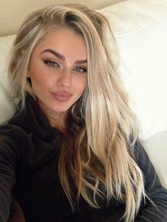 cute ideas for hair if blonde eyebrows - Google Search