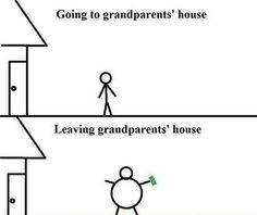 Isn't that what grandparents are for?