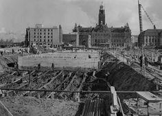 Historische foto's van De Lijnbaan ca 1950