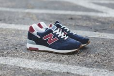 "New Balance 1400 Heritage ""Navy/Burgundy"""