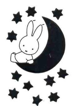 Nijntje telt sterren, Bruna, Kunst op Postkaart