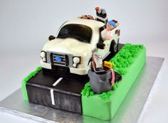 Sugarbird Sweets and Cakery: Ford Pickup Truck Retirement Cake