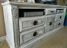 DIY It: dresser turned t.v. cabinet