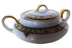 French Limoges  Sugar Bowl