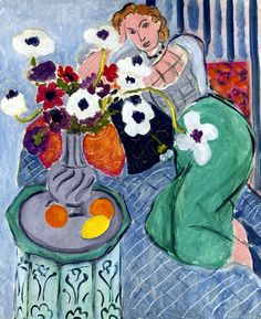 Henri Matisse, 1937 L'Odalisque, Harmonie Bleue