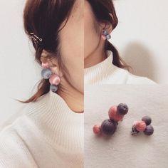 おうちにあまった刺繍糸でできる♪コロコロ可愛い巻き玉アクセを作りたい! | CRASIA(クラシア)