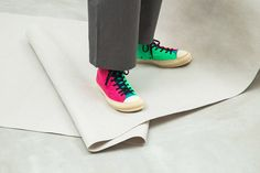 6707a5d1ced0 An On-Foot Look at the JW Anderson x Converse Chuck Taylor  70 Felt