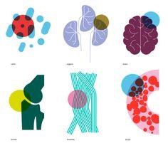 Brand identity for innovative hospital - SILO illustration Pharmacy Design, Medical Design, Medical Illustration, Graphic Illustration, Art Illustrations, Illustration Inspiration, Medicine Packaging, Hospital Design, Digital Painting Tutorials