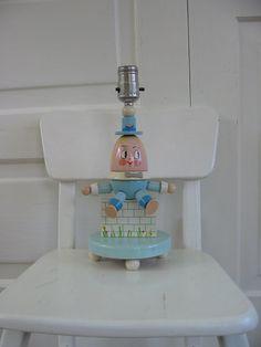 etsy vintage nursery lamp vintage nursery lamp 26 00 more dumpy lamp. Black Bedroom Furniture Sets. Home Design Ideas