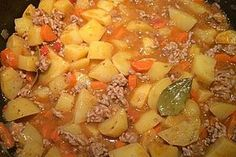 Hackfleisch - Kartoffel - Möhren - Eintopf 10