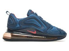 separation shoes d19e0 a3119 Official Nike Air Max 720 Coussin Dair Chaussures de basket Pas Cher Hommes  Bleu Rose AR9293