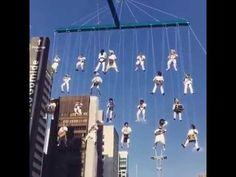 Spettacolare banda musicale aerea-San Paolo (Carnevale in Brasile)