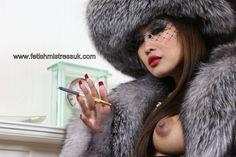 Oh... God just Look what Happened to My Nipples when I wear My Beautiful Soft Fur's. www.fetishmistressuk.com fur 7etc, nice fur, fur fetish, soft fur