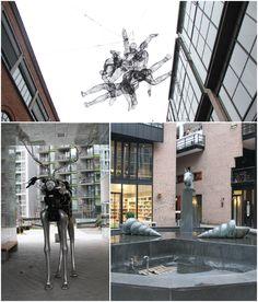 Modern Public Art in Oslo, Norway
