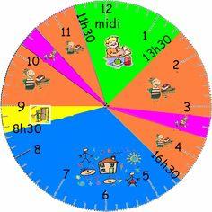 horloge classe2