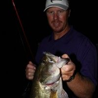 Thump, Rattle and Roll with Nighttime Bass Fishing