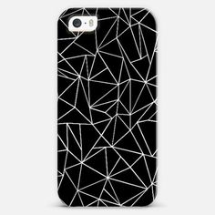 #abstract #outline #black #white #projectm #casetify #iPhone #case