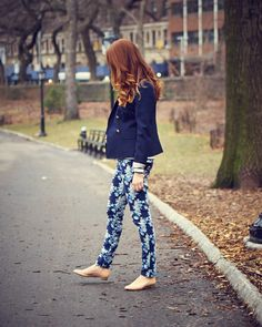 Dying to try me some floral pants