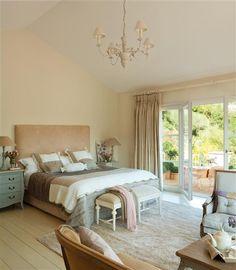 Dormitorio en tonos beige <3